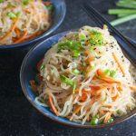 Pasta per perdere peso: dal Giappone, gli shirataki di konjac